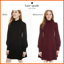 【大人気】新作!!☆kate spade☆mockneck ponte dress