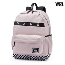 VANS★CHECKER SPORTY REALM PLUS バックパック PINK