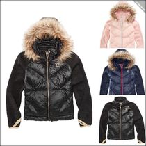【Michael Kors】Removable Faux-Fur-Trimmed ダウンジャケット
