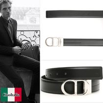 DIOR Reversible Leather Belt