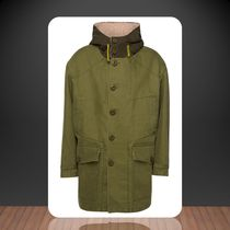 Acne Studios**Outdoor parka made of cotton with faux fur