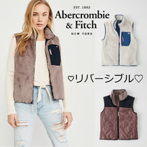 Abercrombie&Fitch*国内発送(追跡有送関込*リバーシブルCozyBest