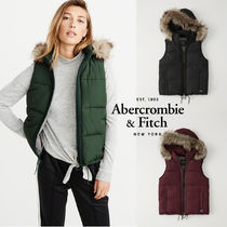 Abercrombie&Fitch*国内発送(追跡有送関込)*ダウンベスト