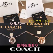 Coach ☆ネックレス ☆関税込み ピンクゴールド/シルバー☆