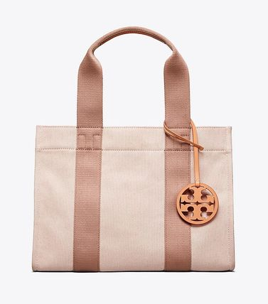 完売必至!☆Tory Burch☆MILLER CANVAS TOTE☆