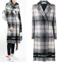18-19AW OW078 DOUBLE BREASTED WOOL COAT