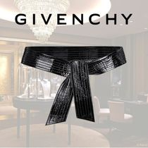 VIP価格【GIVENCHY】BOW LEATHER BELT 関税込