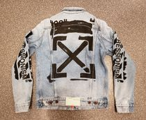 【手元に在庫あり】Off-White  impressionism denim jacket