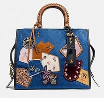Coach ◆ 29234 Rogue with patchwork and snakeskin handles