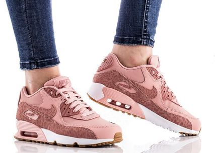Nike キッズスニーカー NIKE Air Max 90 Leather SE GG 大人もOK!(3)