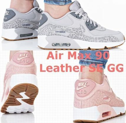 NIKE Air Max 90 Leather SE GG 大人もOK!
