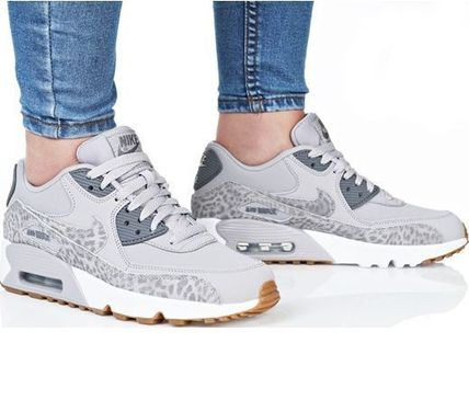 Nike キッズスニーカー NIKE Air Max 90 Leather SE GG 大人もOK!(6)