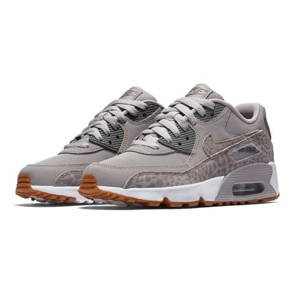 Nike キッズスニーカー NIKE Air Max 90 Leather SE GG 大人もOK!(10)
