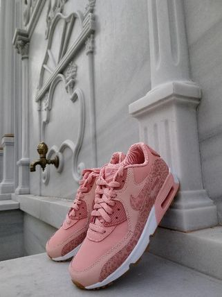 Nike キッズスニーカー NIKE Air Max 90 Leather SE GG 大人もOK!(2)