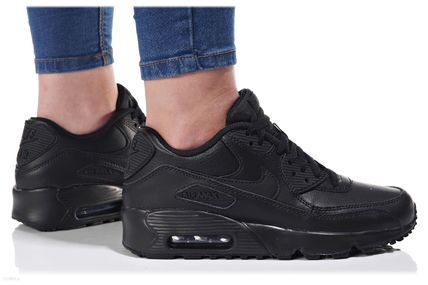 Nike キッズスニーカー NIKE Air Max 90 Leather SE GG 大人もOK!(4)