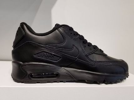 Nike キッズスニーカー NIKE Air Max 90 Leather SE GG 大人もOK!(9)