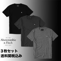 【Abercrombie & Fitch】クルーンネックTシャツ*3枚セット*