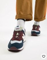 New Balance 574v2 trainers in red ML574INE