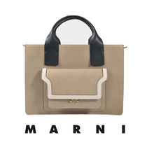 *MARNI* TOTE TRUNK バッグ UK発・本物保証☆