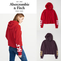 Abercrombie&Fitch*国内発送(追跡有)送関込*Cut-offロゴフーディ