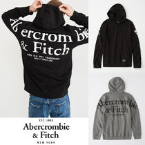 Abercrombie&Fitch*国内発送(追跡有)送関込*バックロゴフーディ