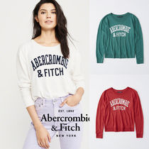 Abercrombie&Fitch*国内発送(追跡有)送関込*CozyロングロゴT