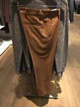 COS 新作 WOOL PRESSFOLD TROUSERS (BROWN / BLACK)