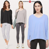 lululemon★Vネックですっきり★Back In Action V Long Sleeve