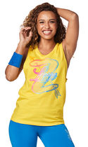 ◆12月新作◆Zumba Love Instructor Muscle Tank(Sunrays)