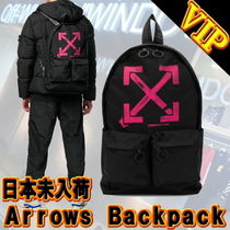 """◆◆VIP◆◆  Off-White   """"ARROWS """" ナイロン  Backpack"""