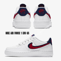 NIKE★AIR FORCE 1 LV8 GS★CHENILLE SWOOSH もこもこ 22.5~25cm