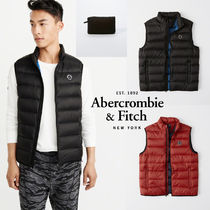 Abercrombie&Fitch*国内発送(追跡有)送関込*ライトダウンベスト