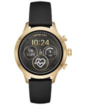 MKT5053 Access Runway Black Silicone Strap Touchscreen Smart