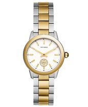 Collins Two-Tone Stainless Steel Bracelet Watch 32mm
