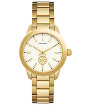 Collins Gold-Tone Stainless Steel Bracelet Watch 38mm