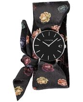 14503182 Perry Peony Satin Scarf Wrap Watch 36mm