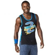 ★国内発送★ ズンバ Zumba Revolution Men's Tank Bold Black