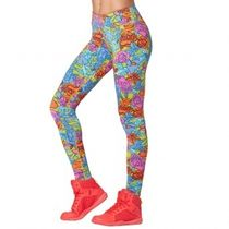 ★国内発送★ ズンバ Zumba Love Long Leggings Rain Mist
