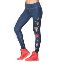 ★国内発送★ ズンバ Celebrate Love Ankle Leggings Love Denim