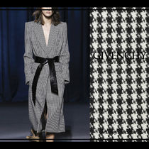 RUNWAY LOOK5◇Houndstooth ロング コート◇GIVENCHY