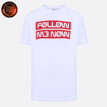 RED VALENTINO  Follow Me NowプリントTシャツ 関税送料込