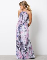 Layered Flowy Gown
