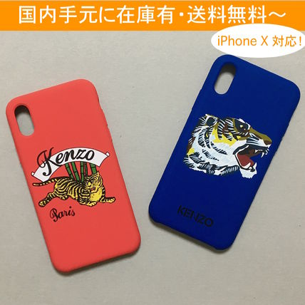 KENZO iPhone・スマホケース KENZO JUMPING TIGER and GO TIGERS CAPSULE iPhone CASE