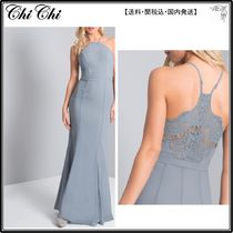 【海外限定】ChiChiLondonドレス☆Lace Back Maxi Dress