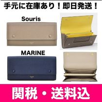 CELINE★ LARGE *FLAP* MULTIFUNCTION 長財布 バイカラー
