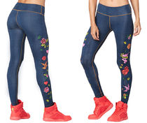 新作♪Zumbaズンバ Celebrate Love Ankle Leggings-Love Denim