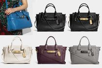 Coach ◆ 34408 Coach swagger carryall in pebble leather