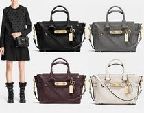 Coach ◆ 36235 Coach swagger 20 in pebble leather