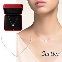 【Cartier】国内発送 シンボル ネックレス ピンクゴールド
