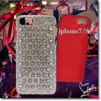 New◆Christian Louboutin◆Loubiphone metallic IPhone 7/8